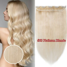 "Dark Auburn Thick One Piece Clip in Remy Human Hair Extensions 12""-24"" Full Head"