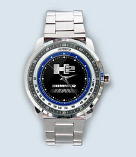 Get New H2 HUMMER TRUCKS logo Custom Stainless Steel Metal Watch