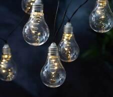 solare garten laternen lichterketten mit 12 lichtern g nstig kaufen ebay. Black Bedroom Furniture Sets. Home Design Ideas