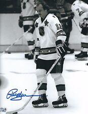 Signed  8x10 RICK MIDDLETON Boston Bruins Photo -  COA