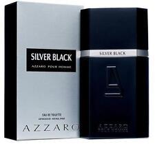 Silver Black AZZARO Eau de Toilette 100ml + 1 Kostenlose Probe