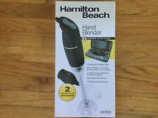 Hamilton Beach Hand Blender w/ Case & 2 Attachments - 59785R