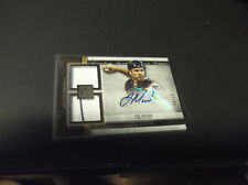 AUTO'D JOE MAUER 2020 TOPPS MUSEUM COLLECTION DUAL RELIC #37/50 MADE TWINS