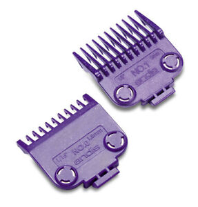Andis DOUBLE Magnetic Nano Combs #0 & #1 Barber Clipper Guards #01900 (2 Pack)