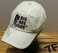"BIG ASS FANS HAT W/ CHICAGO BEARS WILLIAM PERRY #72 ""THE FRIDGE"" AUTOGRAPH VGC"