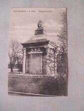 WW1 Bad Dürkheim Kriegerdenkmal Feldpost 1916