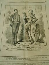 Typo 1883 - Costume de Chevalier Mission Militaire couronnement Czar