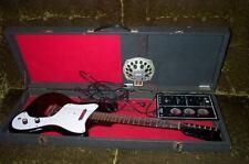 Vintage Sears Silvertone 1451 Danelectro Electric Guitar w/ Amp In Case!