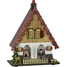 More details for colourful black forest weather house barometer 21cm by trenkle uhren tu864