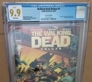 The Walking Dead Deluxe #1 Comic - GOLD FOIL 🔥 CGC 9.9 🔥 CGC 9.9 🔥 CGC 9.9 MT