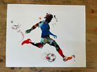 cool soccer print/poster 8 x 10