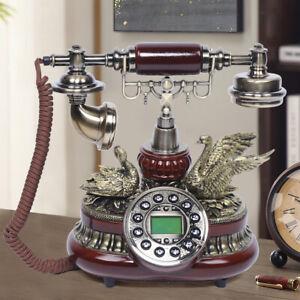 Vintage Telefon Retro Festnetztelefon Haustelefon Nostalgie Tischdeko Telefon