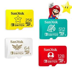 512 Go SANDISK NINTENDO SWITCH carte mémoire micro SD MicroSD TF LOT /adaptateur