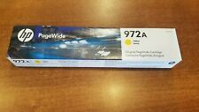 HP 972A | PageWide Cartridge | Yellow | L0R92AN Expires 10 2022 New In Box