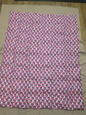 """Autism  Sensory Pink Panda Quilted Weighted Blanket 5LB  43"""" X 53""""  NEW"""