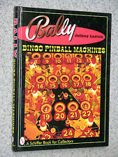libro Lawton BALLY BINGO PINBALL MACHINES flipper coin gettoni
