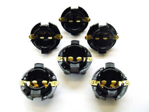 """6 Instrument Panel 5/8"""" Twist In Sockets Cluster Light Bulb Dashboard 194 Ford"""