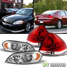 Fits 2006 2013 Chevy Impala Headlights Tail Lights Lamps Leftright Set 06 13 Fits 2006 Impala