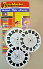 Vintage Viewmaster - Carded Tyco 3 Reel Set CR 395 1/2/3 Holland Made In Europe