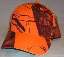 Outdoor Cap Hunter Safety Blaze Orange & Mossy Oak Camo Camouflage Baseball Hat