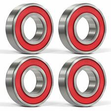 4* 6205-2RS Ball Bearings Double Rubber Seal Deep Groove for Machinery Toy Tool