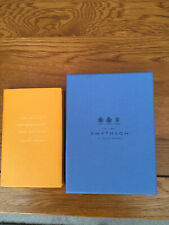 SMYTHSON PANAMA NOTEBOOK 'I WOULD ALWAYS RATHER BE HAPPY THAN DIGNIFIED'