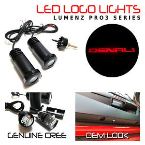 Lumenz LED Courtesy Logo Lights Ghost Shadow for Red GMC Denali 100945