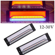 12-30V Halo Neon Flowing 147 LED Car Trailer Truck Turn Signal Brake Tail Light
