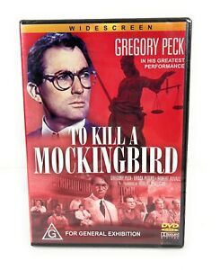 To Kill A Mockingbird - Gregory Peck, Robert Duvall DVD New Sealed Region 4