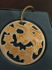Lenox 12 Days Of Christmas Ornament 10 Ten Lords A Leaping