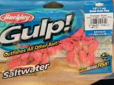 "Berkley Gulp Saltwater 12"" Sand Crab Flea (28/bag), Broadway brown"