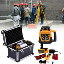 Self-leveling Rotary Red Laser Level Kit 150 Meter Distance - UK Stock