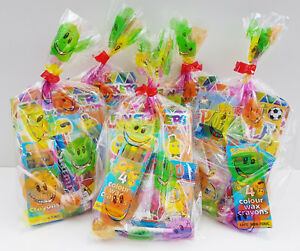 35 x PRE FILLED KIDS UNISEX PARTY LOOT BAGS FOR BIRTHDAYS & WEDDINGS