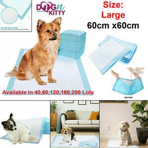 Dog Puppy Training Pads Bob Martin Heavy Duty Floor Toilet Mats Wee Wee 60x60cm