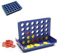 4 gewinnt Mini Reisespiel 9,5x6,5x7 cm 4 vier in einer Reihe Vier gewinnt blau