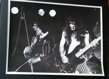 IRON MAIDEN PAUL DI'ANNO EARLY ORIGINAL PHOTO Killers dianno nwobhm Signed #2