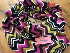 MISSONI For Target Chevron Infinity Scarf Purple Pink - BRAND NEW WITH TAGS