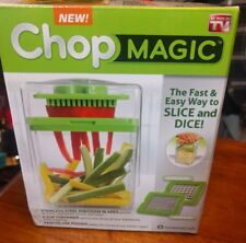 Chop Magic Chopper fast and easy way to slice and dice NIB