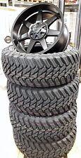 Dirt D39 9x20 5x120/127 Felgen + Reifen Atturo M/T 35x12,5x20 Jeep Wrangler Neu