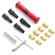 deleyCON SAT Montage Set 15 Teile SAT Koaxial Werkzeug Set F Stecker Abisolierer