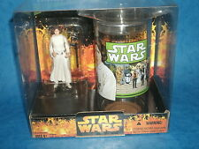 STAR WARS CHARACTER CUP & FIGURE SETS: PRINCESS LEIA 'w/A New Hope'Carrie Fisher