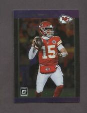 2019 Donruss Optic Patrick Mahomes II Kansas City Chiefs