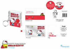 Children's Kid's Hello Kitty Red Key ring Notebook Original Design Gift Idea NEW