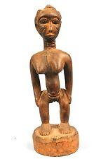 Art Africain - Epouse Mystique Baoulé - Pièce Usuelle - Belle Morphologie 17Cms