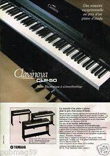 Publicité advertising 1986 Piano electronique Clavinova CLP-50