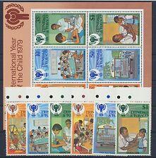 Trinidad und Tobago 385/90 Block 26 postfrisch / Kinder ........................