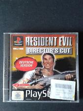 PS1 Resident Evil Director's Cut PAL Deutsche Version NEUFScellé-NEW SEALED