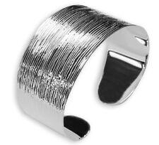 925 ECHT SILBER *** Luxus Armreif Armspange diamantiert, breit und massiv