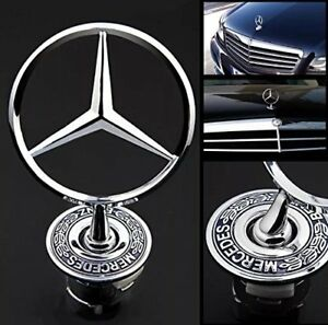 Bonnet Hood Spring Logo Emblem For Mercedes Benz C180 C200 S300 W211 W210 CLK AU