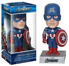 Captain America Marvel Avengers Wacky Wobbler Bobblehead by FUNKO NIB New in Box
